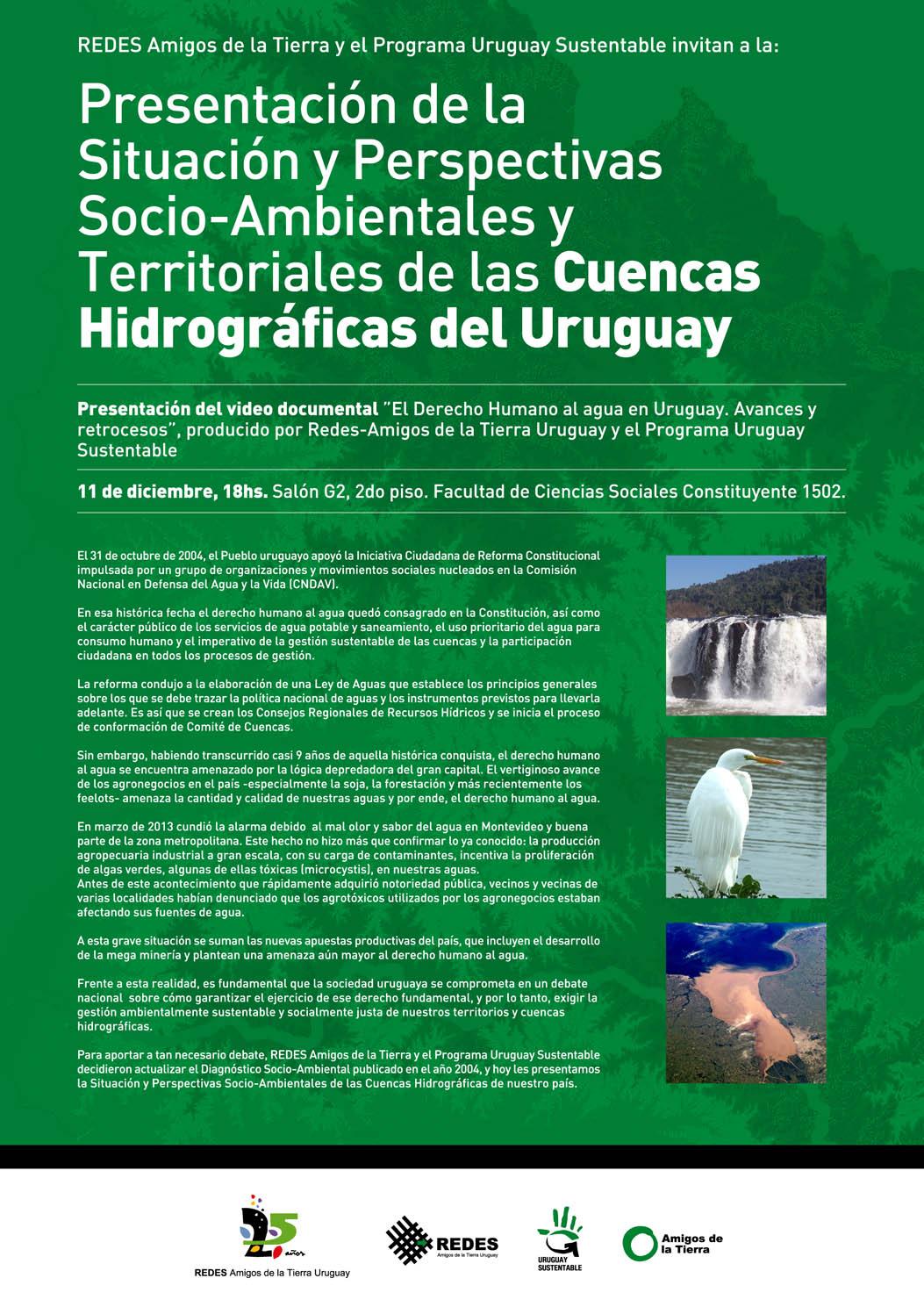 Invitacion Afiche Presentacion Cuencas