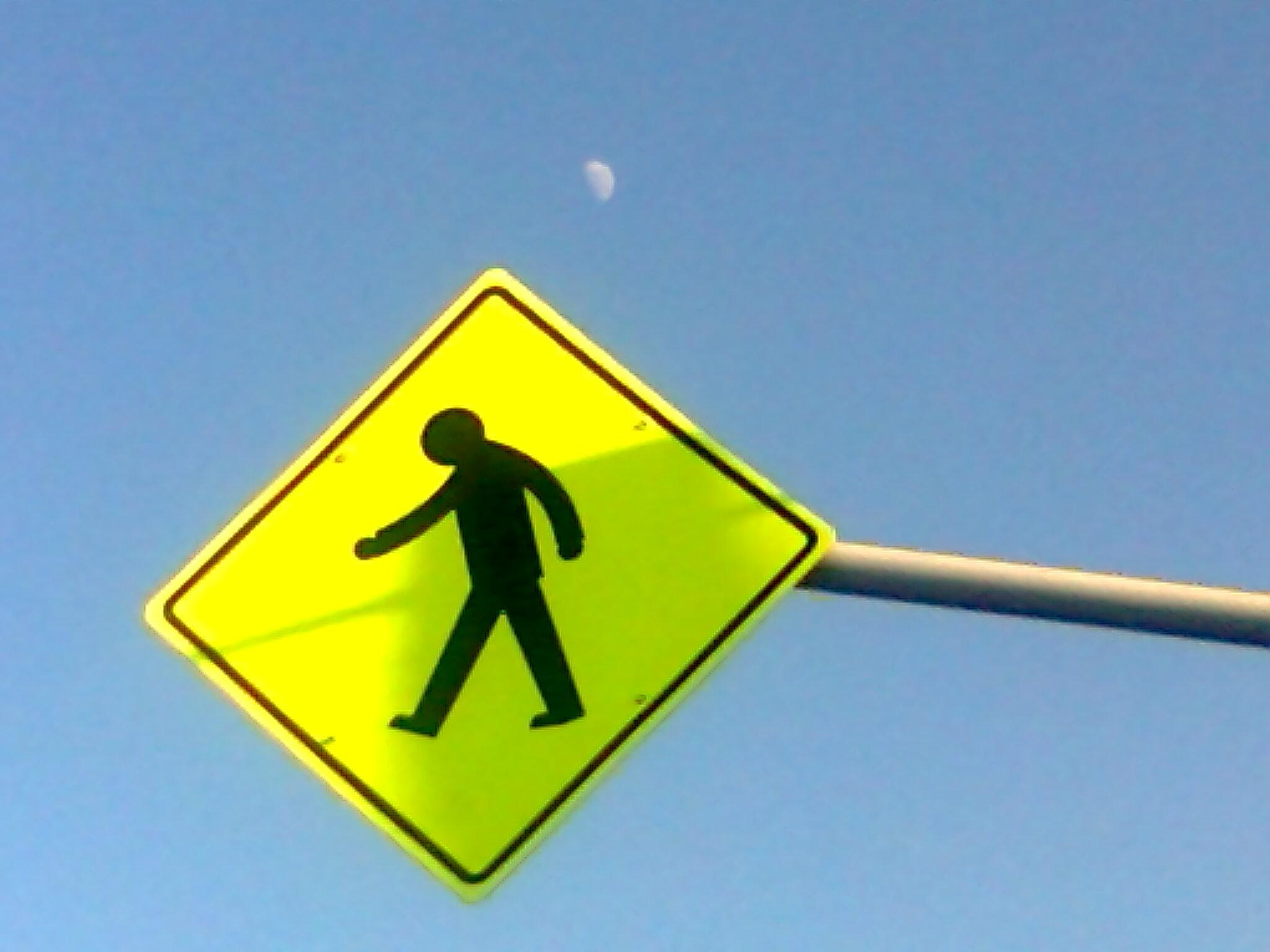 12 Lindo cartel con luna atrás, del 14 de octubre de 2014